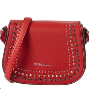 BCBGeneration Sarah Red Crossbody Purse